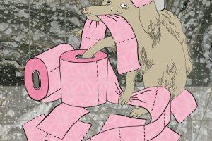 Chaos, Coverillustration für das Maulbeerblatt