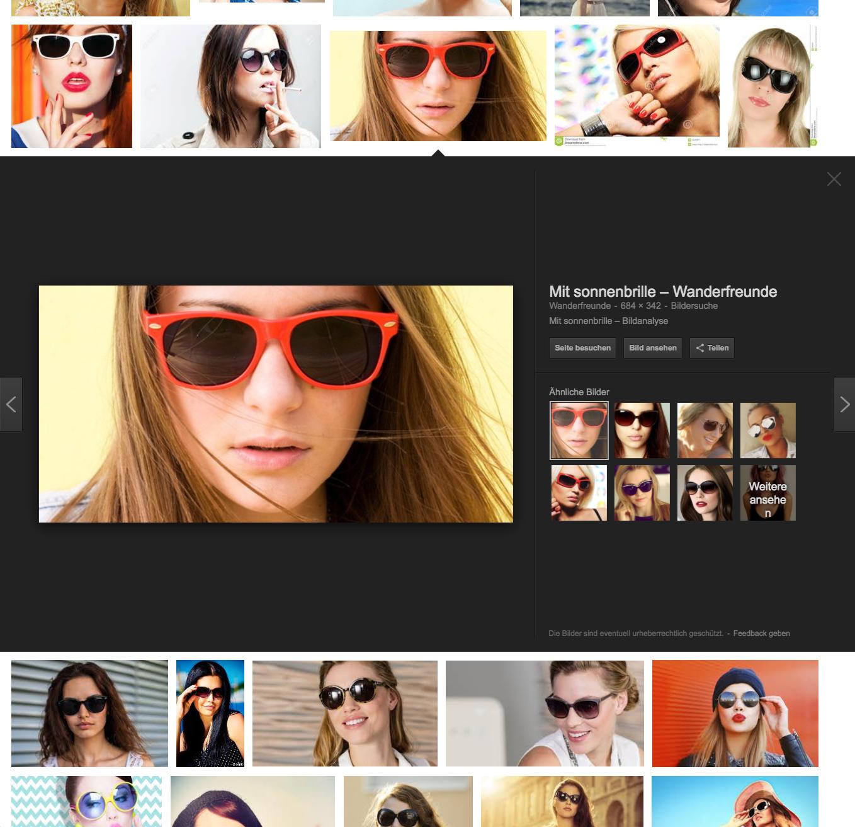 Google Bildersuche App