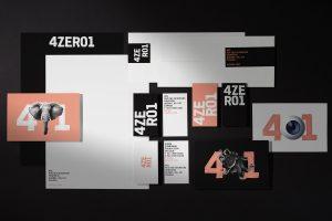 4ZERO1 - Corporate Design