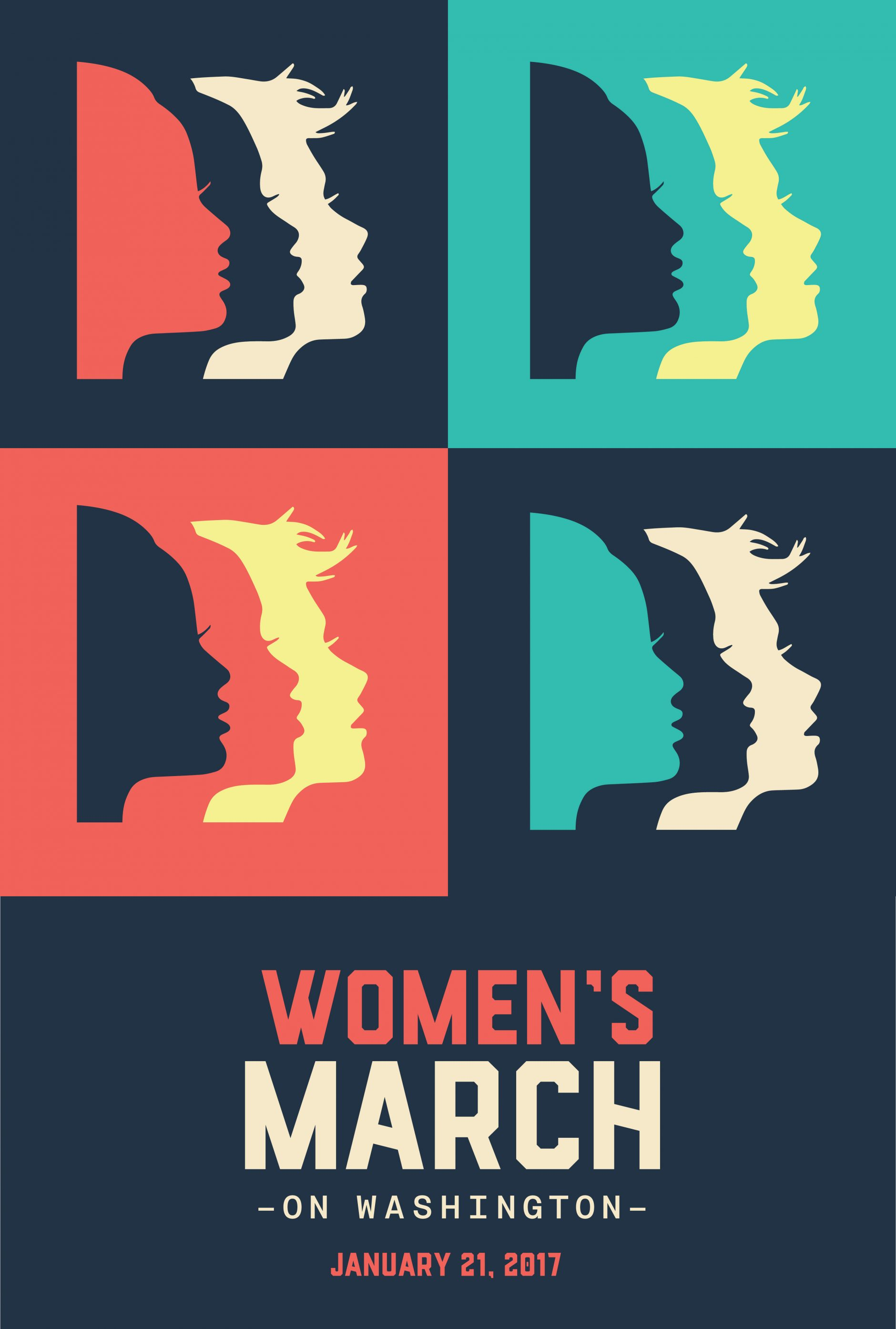Logodesign, Logo, Design, Women's March, Strack Design, Visual Identity