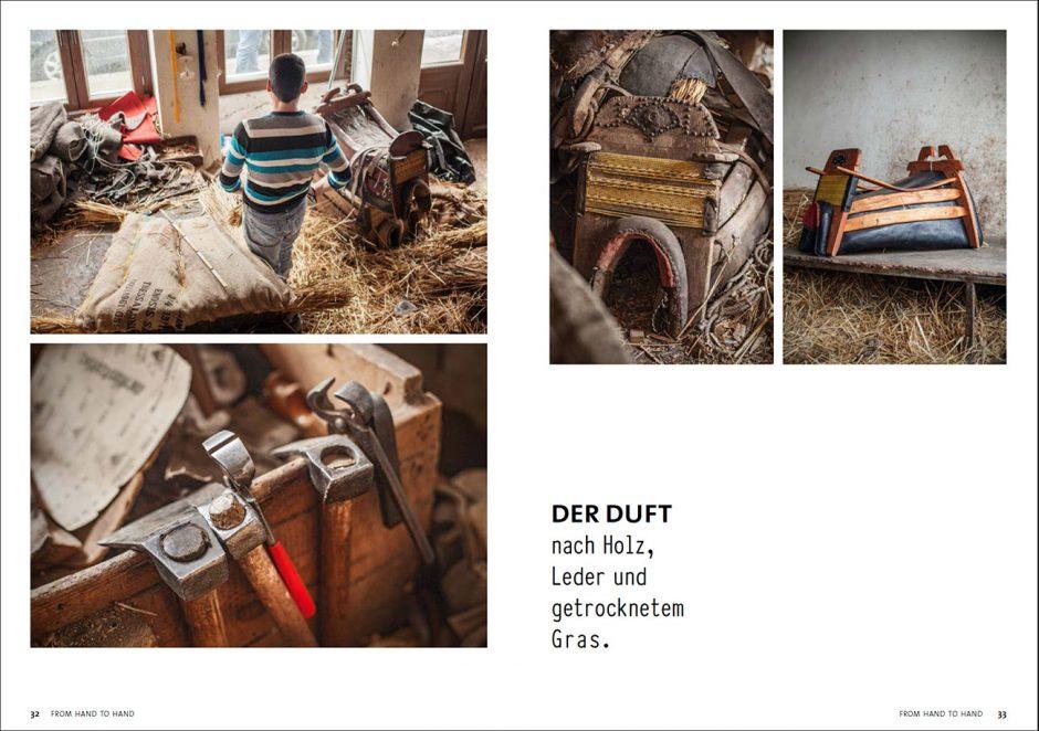 Laura Bernhardt, Benjamin Tafel, From Hand to Hand, Fotobuch, Handwerk, Website