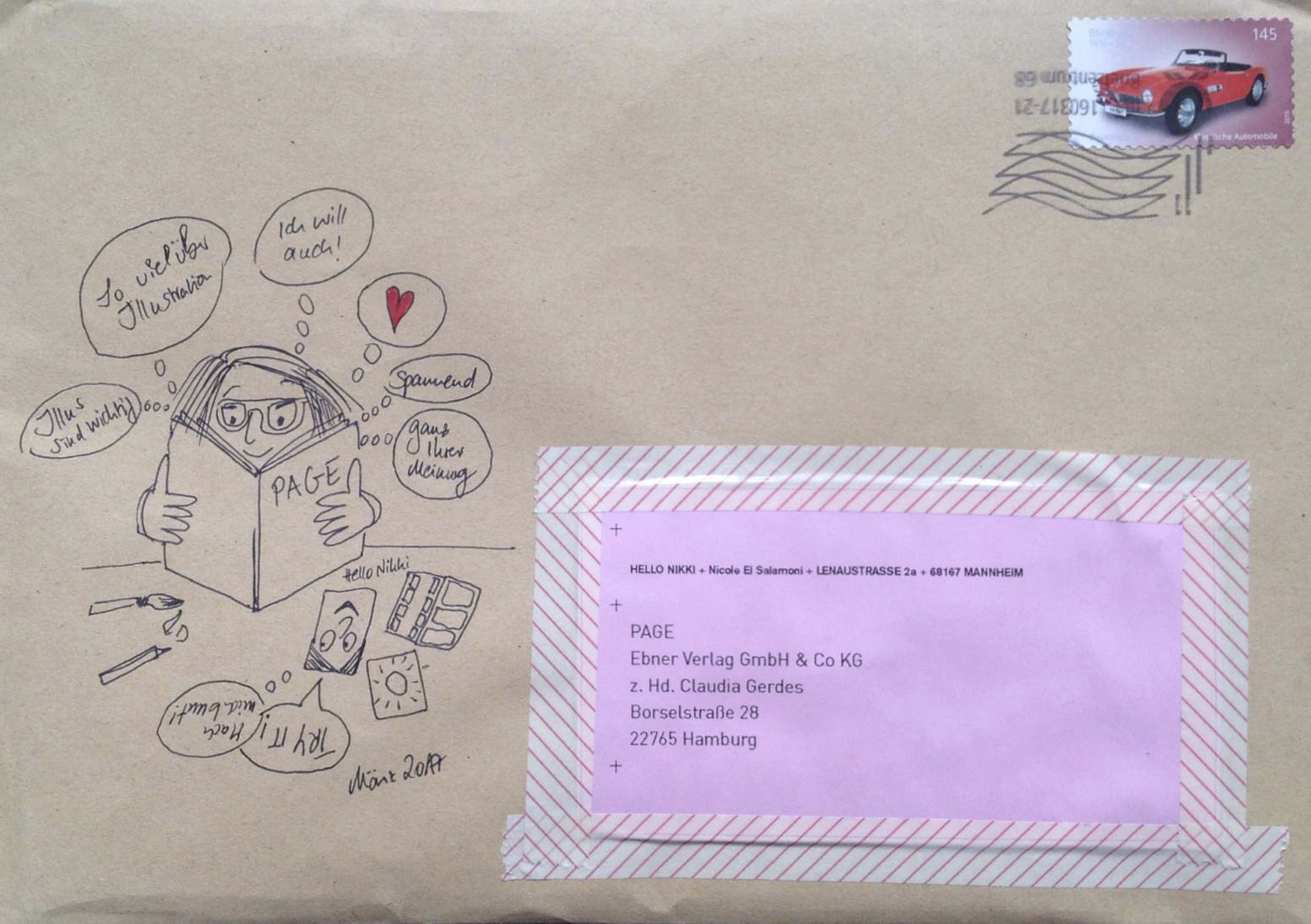 Der charmanteste Brief des Jahres kam aus Mannheim | PAGE online