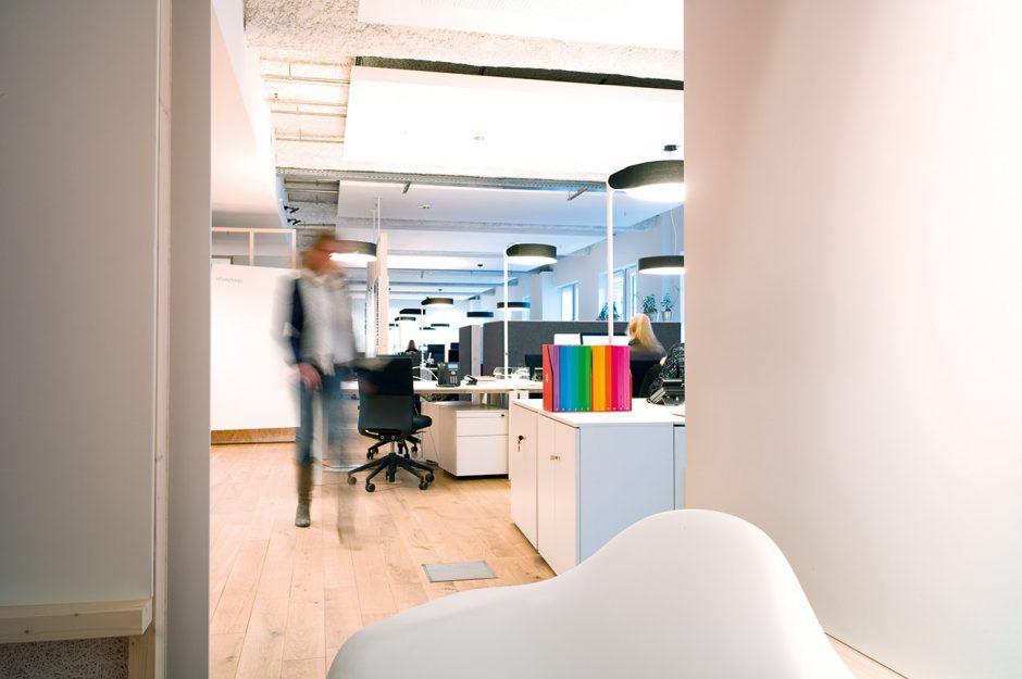 Blick ins Studio FCB Hamburg