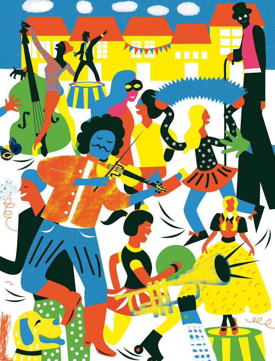 Zsuzsanna Ilijin, Illustration, Editorial