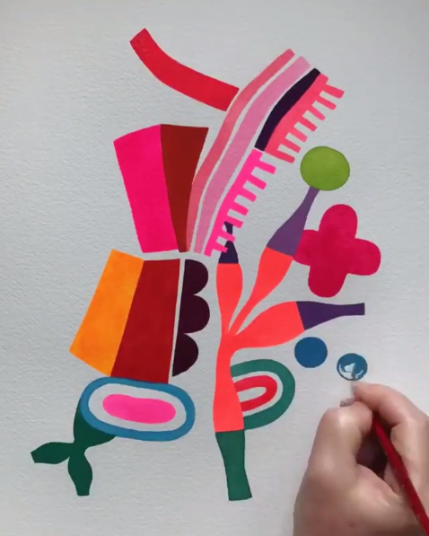 Instagram Illustration Video