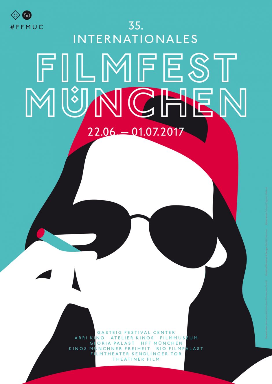 Plakat Poster Illustration Filmfest