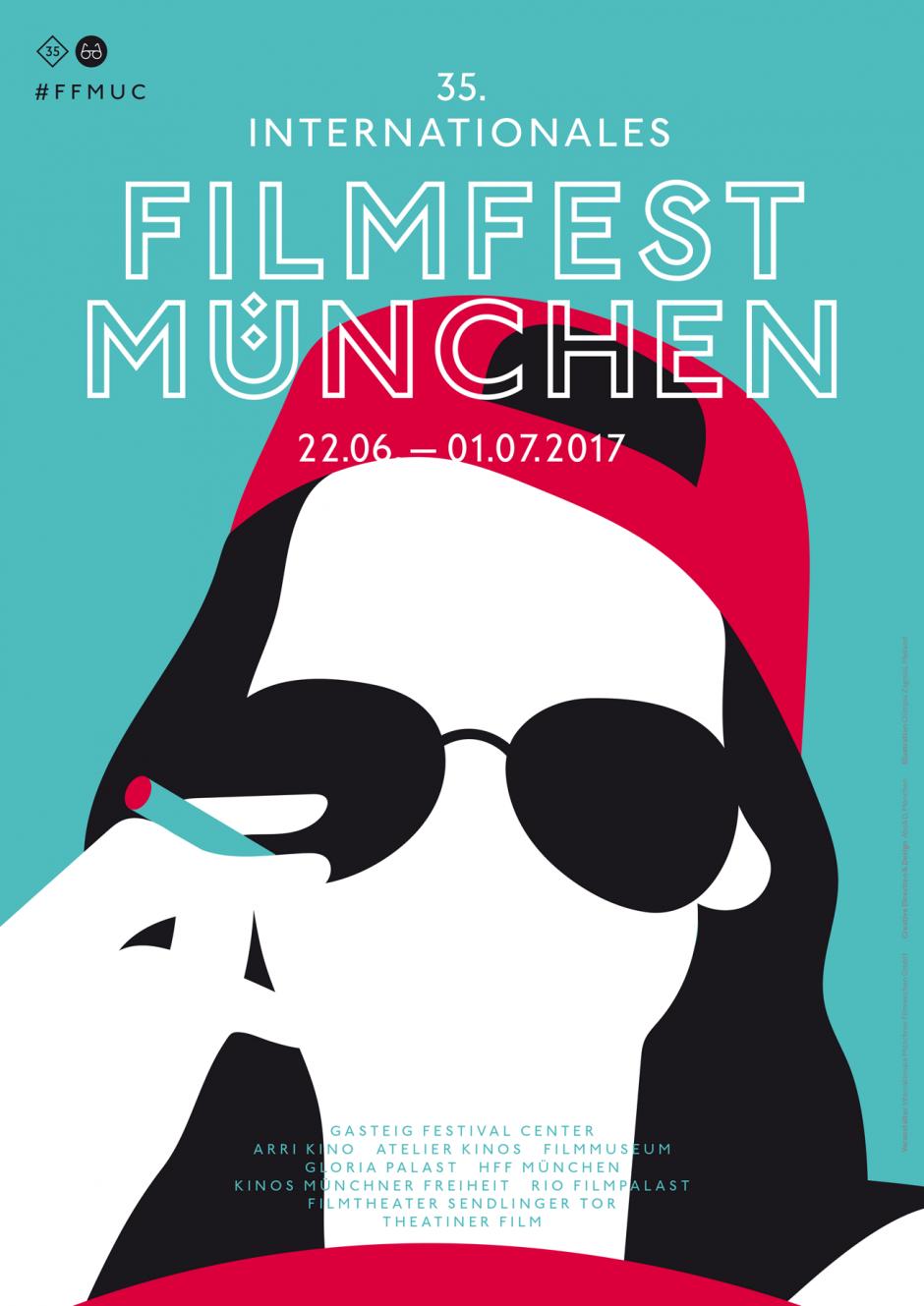 Plakat Poster Illustration Filmfest