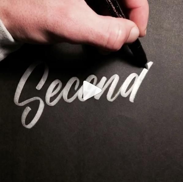 Handlettering Typo Instagram
