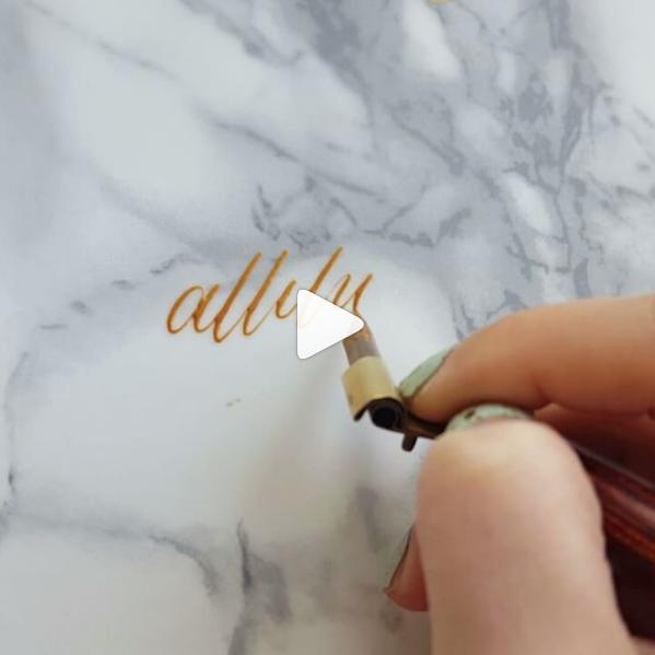 Kalligrafie Video Instagram