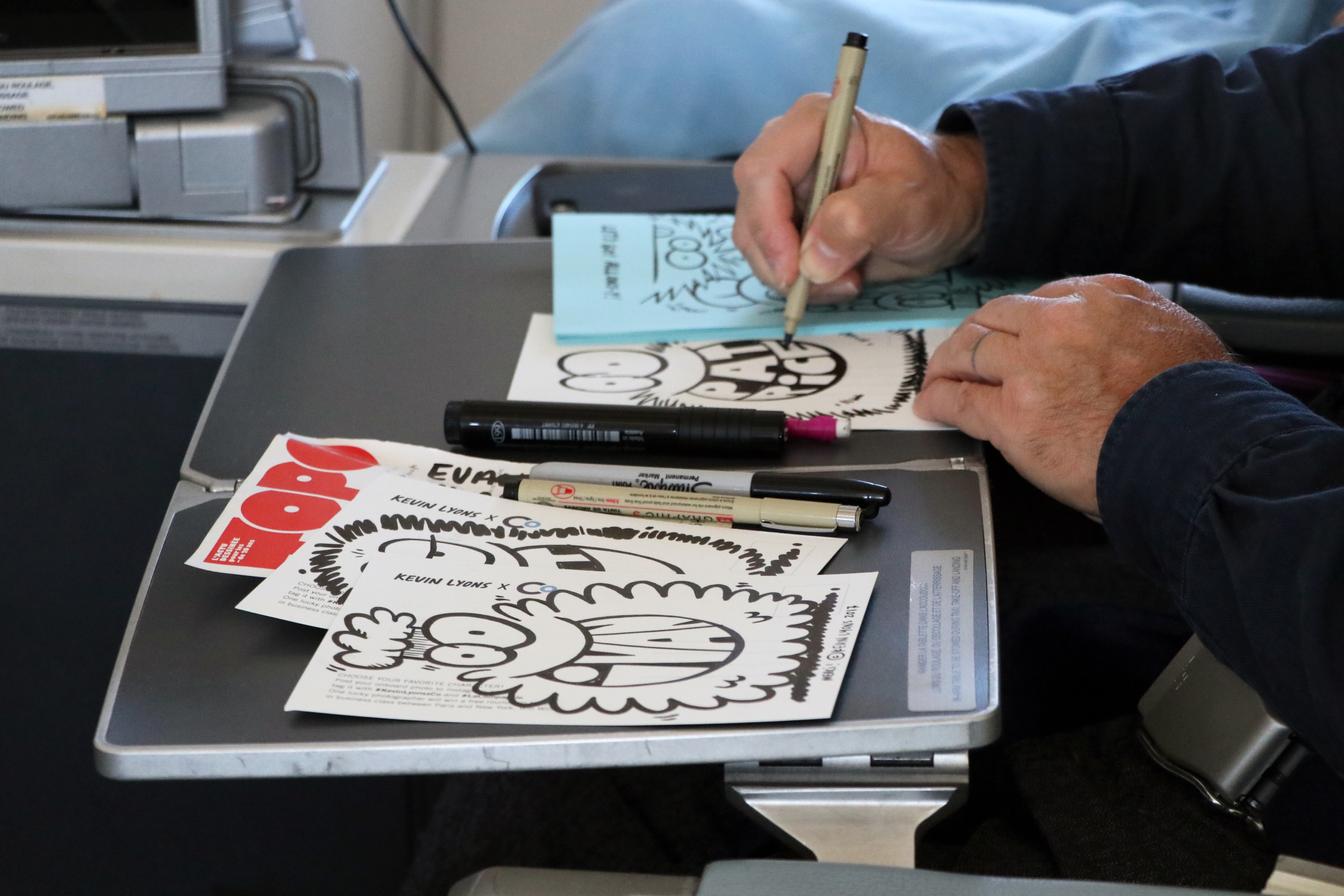 Kevin Lyons Illustrator illustriert