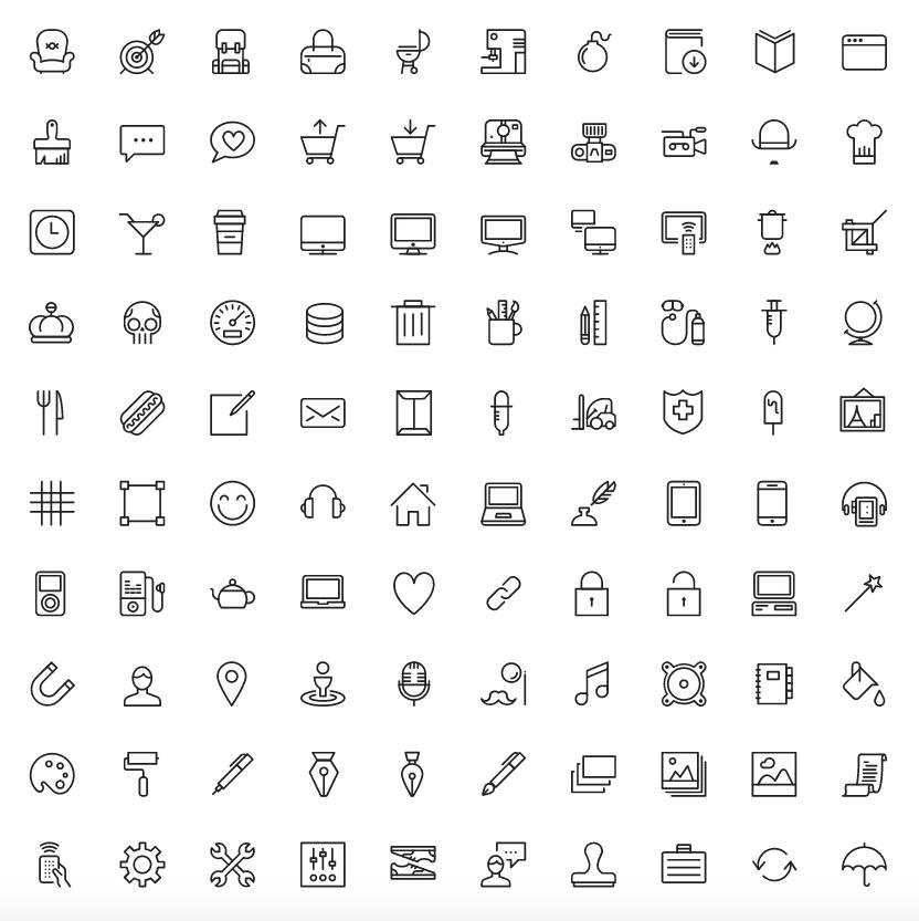 kostenlose Icons, Icons, Piktogramme