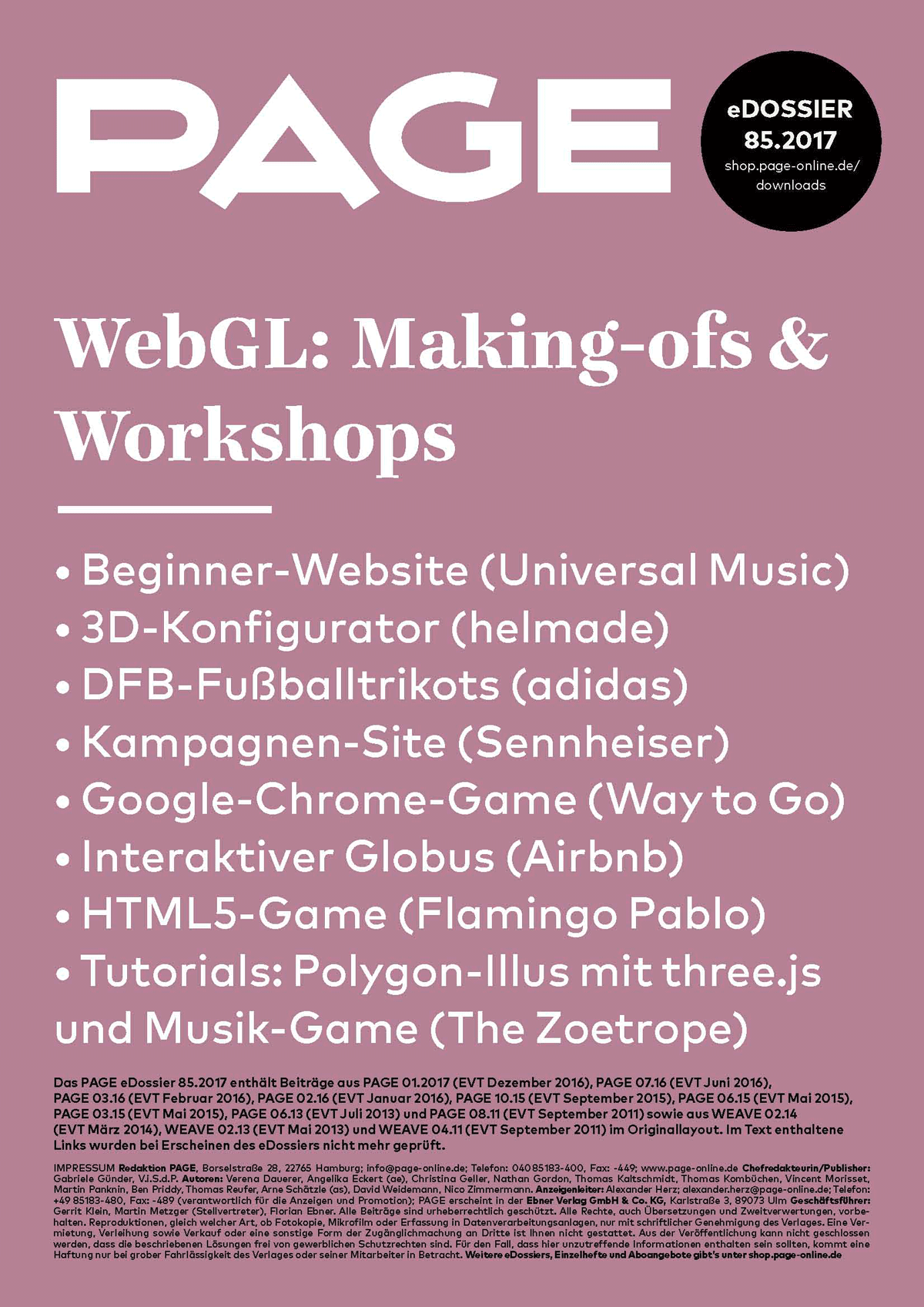 WebGL, Design, Development, three.js, JavaScript, HTML5, web 3d, graphics library