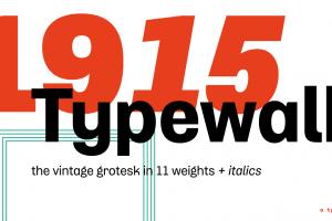 Schrift Typografie Typewalk