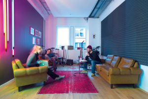 FCB Hamburg Blick ins Studio