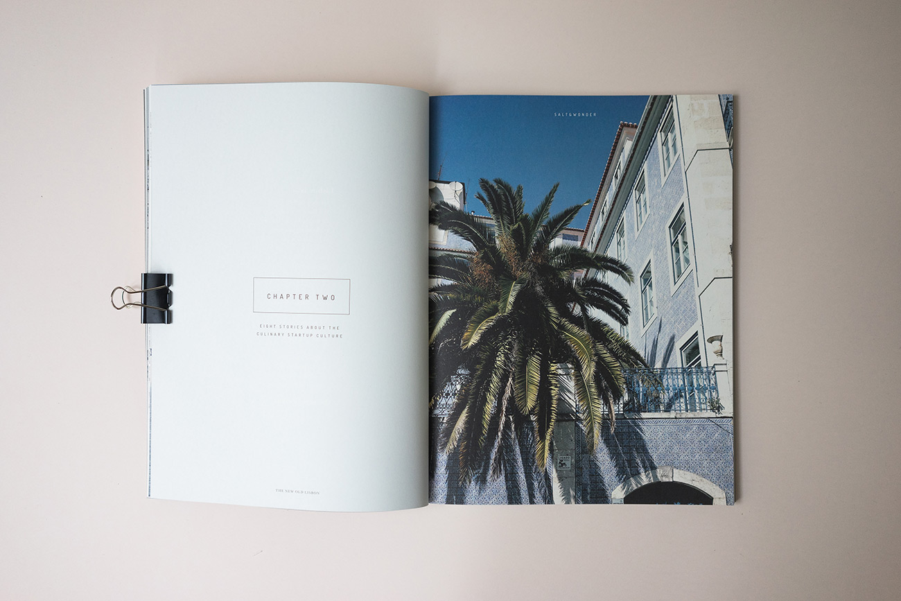 Print Magazin über die kulinarische Startup-Kultur in Lissabon