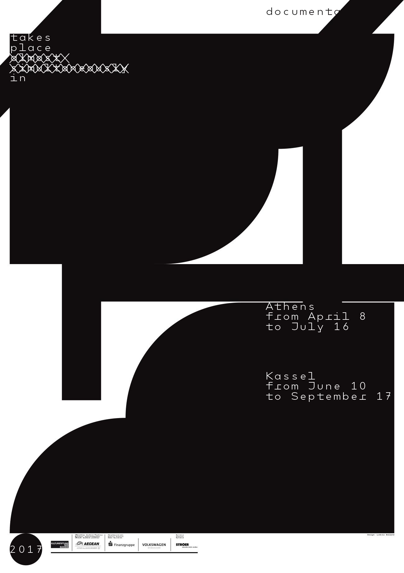 No Corporate Design: Wie die documenta 14 mit ihrem Erscheinungsbild ...