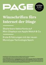 Vektor-Fonts, Apple Watch, Monotype Spark