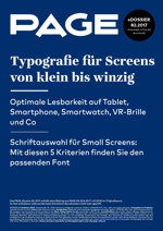 Typografie, Webfonts, Smartphone, Smartwatch, Smart Home, VR-Brillen, Responsive, Corporate Design