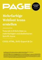 Webfont Icons,Webfonts, CSS3, HTML, SVG-Export