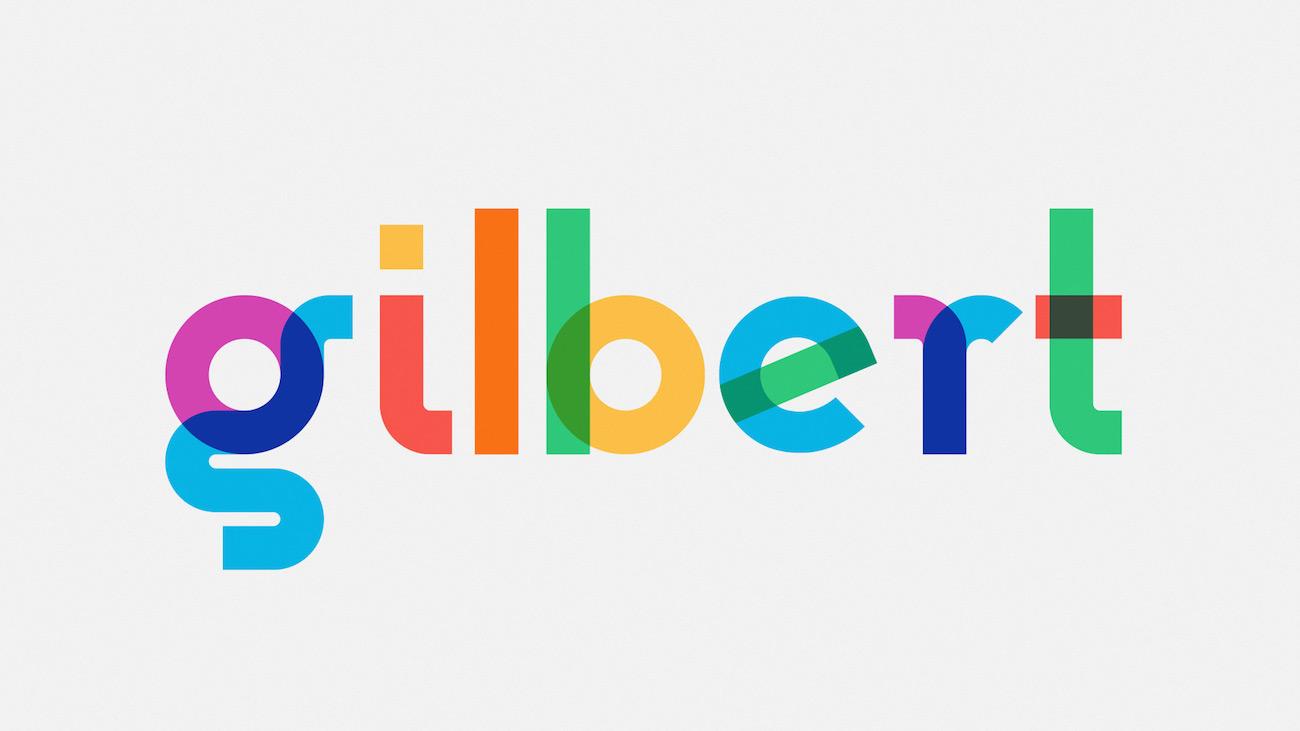 Free Font Typografie Gilbert