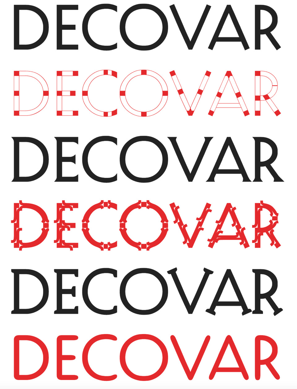 Variable Fonts, Webfonts, Typografie, Fonts
