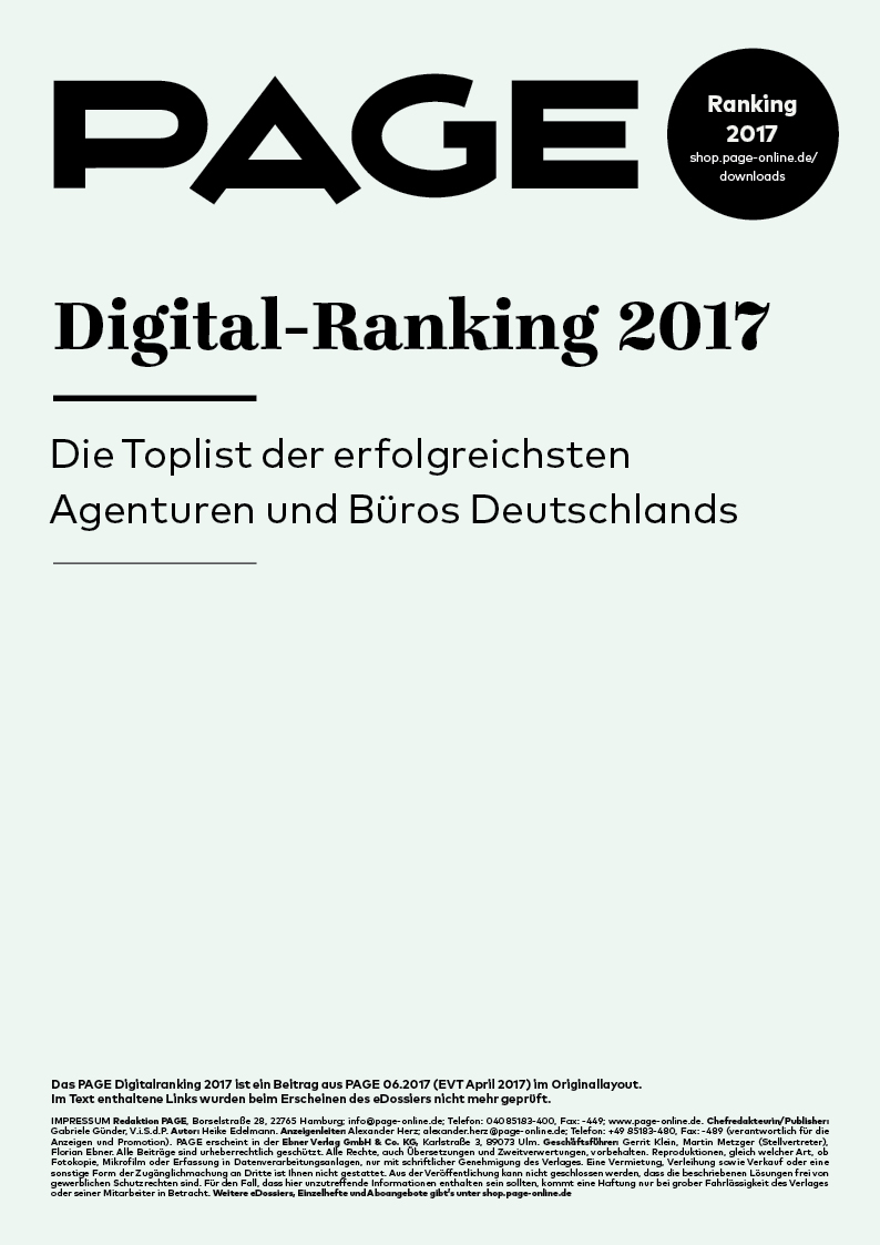 PAGE Digital Ranking 2017   PAGE online