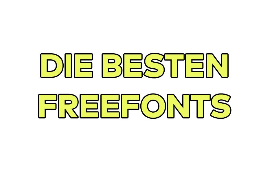 freefont, free fonts