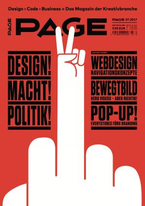 PAGE 072017, Kampagne, Design, Kommunikationsdesign, Ausstellungen, Kreativbranche, Grafikdesign
