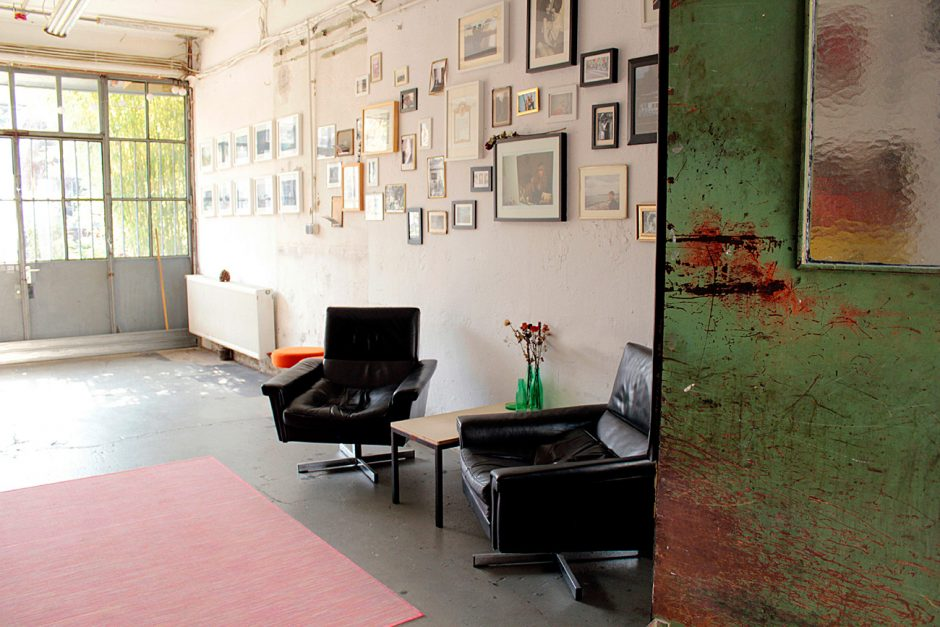 Blick ins Studio Das Studio