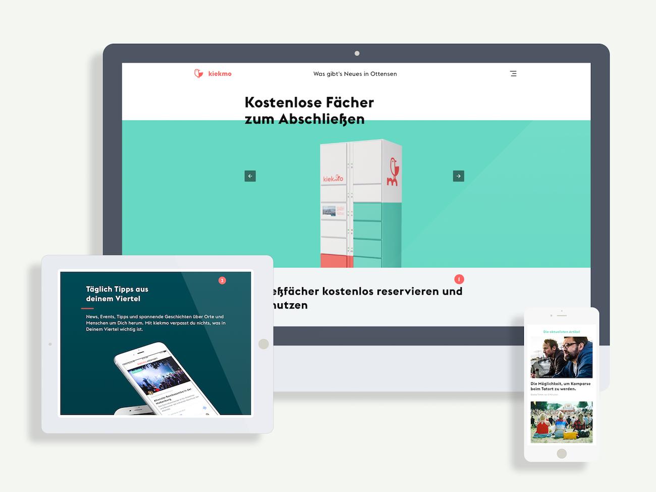 SinnerSchrader kiekmo App Design