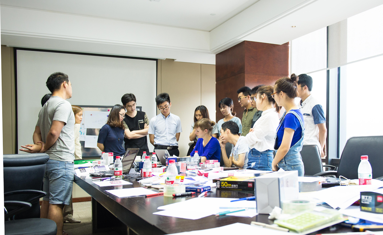 Strichpunkt China Workshop Deli