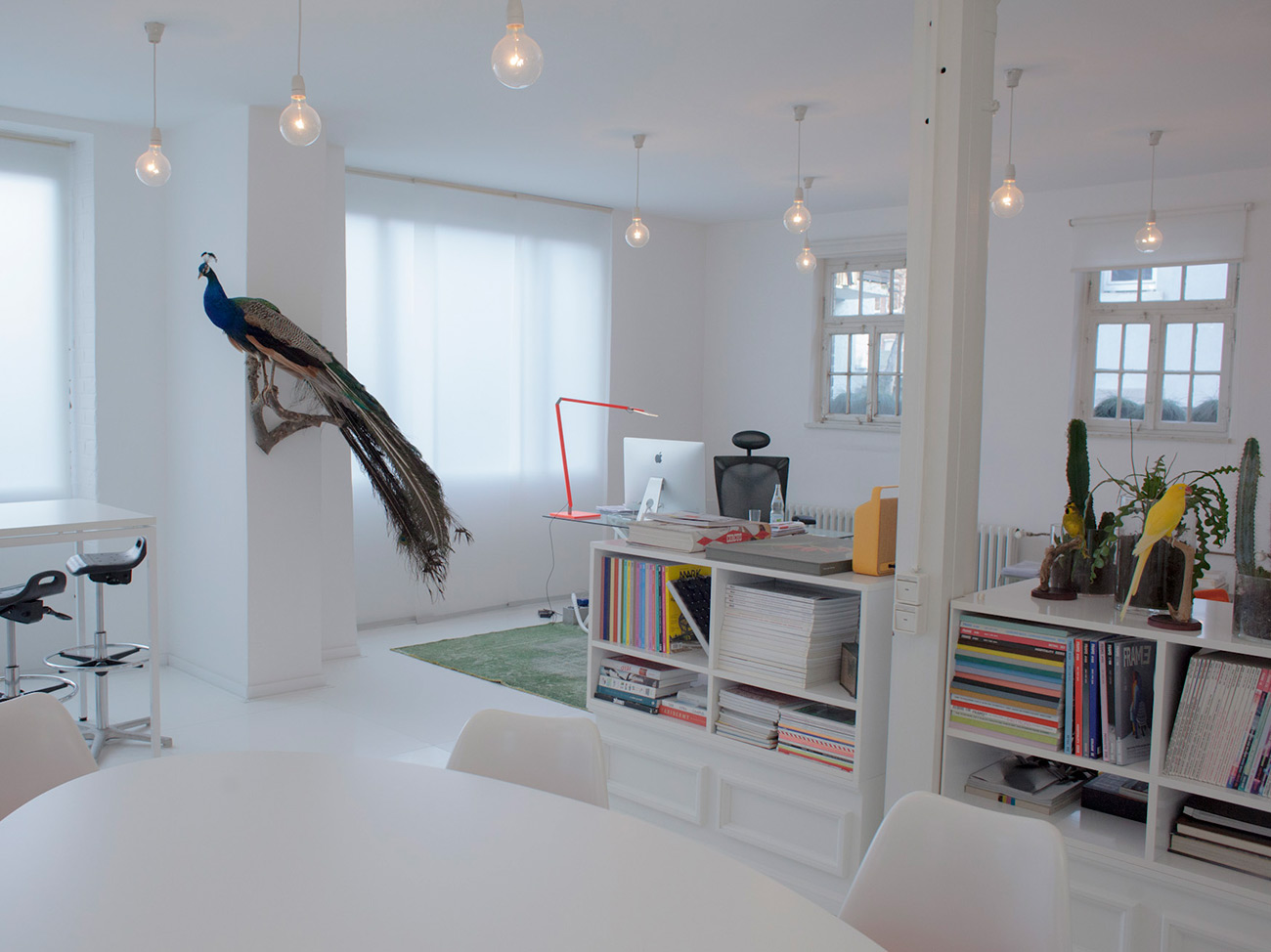 Blick ins Studio: Agentur Designplus