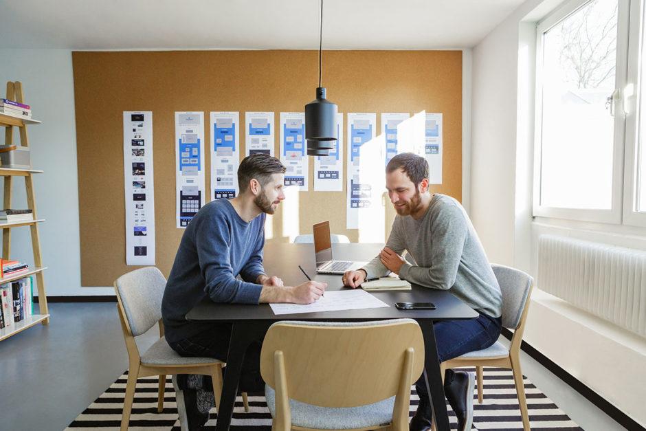 Blick ins Studio: Bräutigam & Rotermund