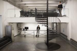 Blick ins Studio: Leo Burnett-Laeufer Berlin