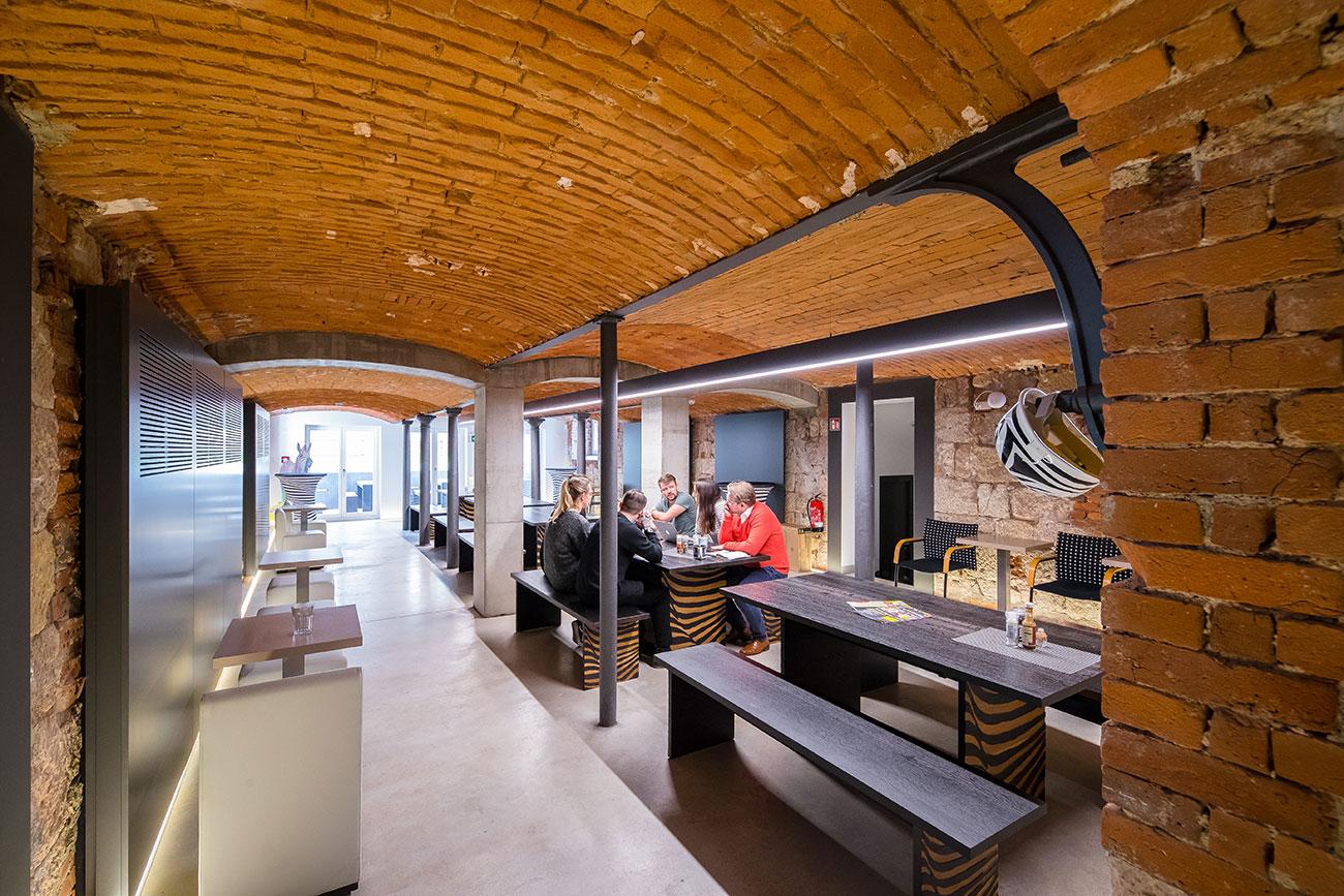 Blick ins Studio zebra Chemnitz
