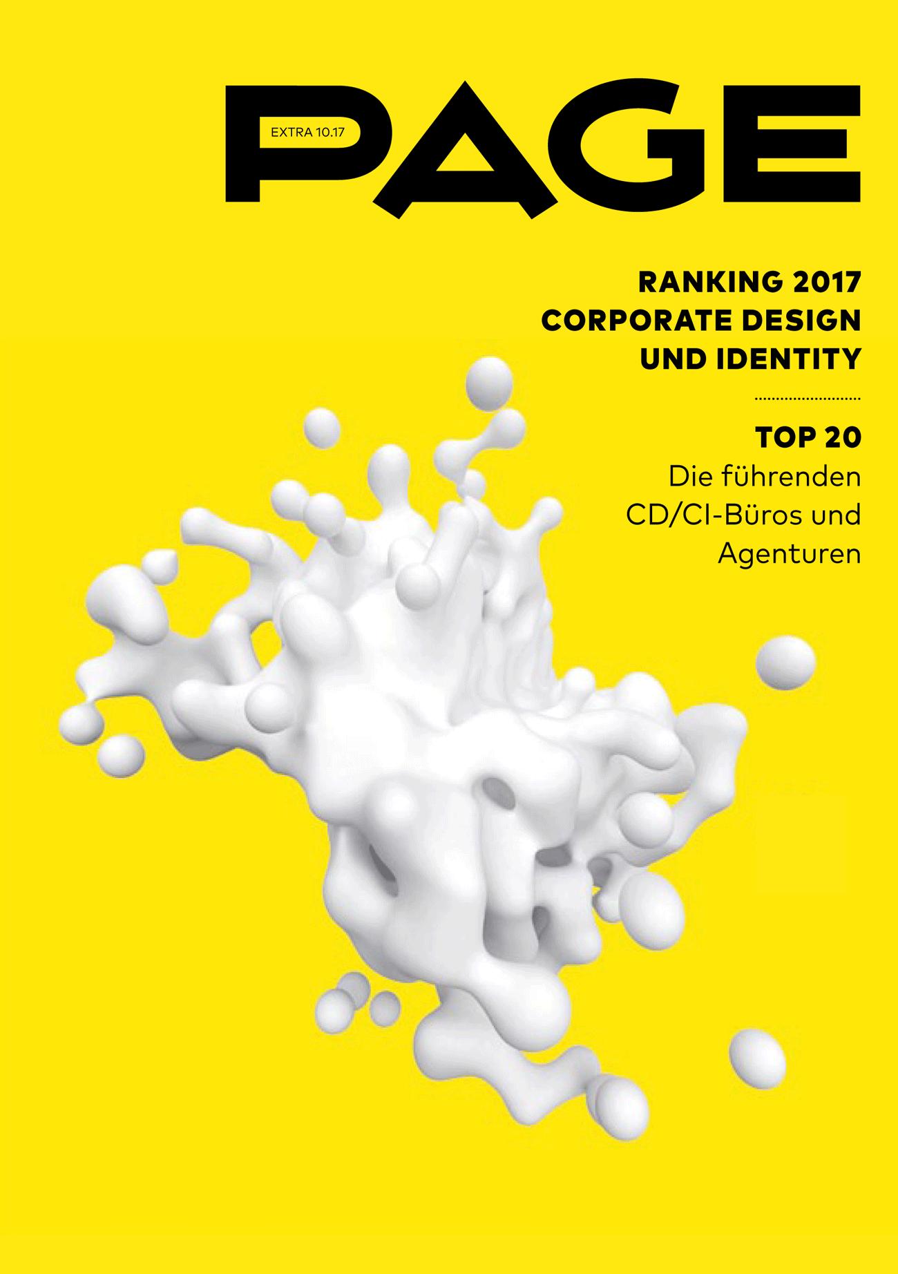 Corporate Design, Corporate Identity, PAGE Ranking