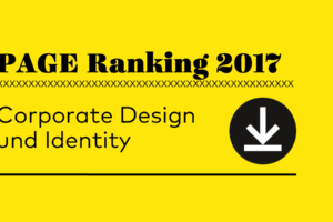 Corporate Design, Corporate Identity, PAGE Ranking