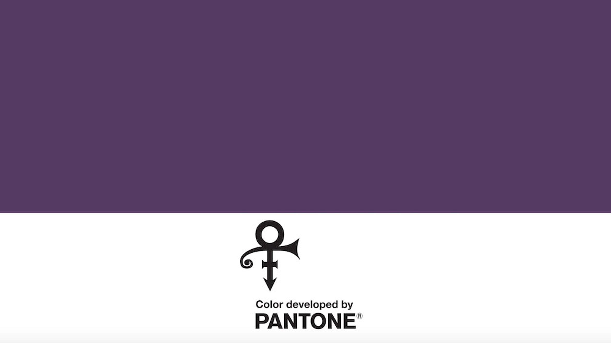 Purple Für Prince Pantone Launched Den Farbton Love Symbol 2