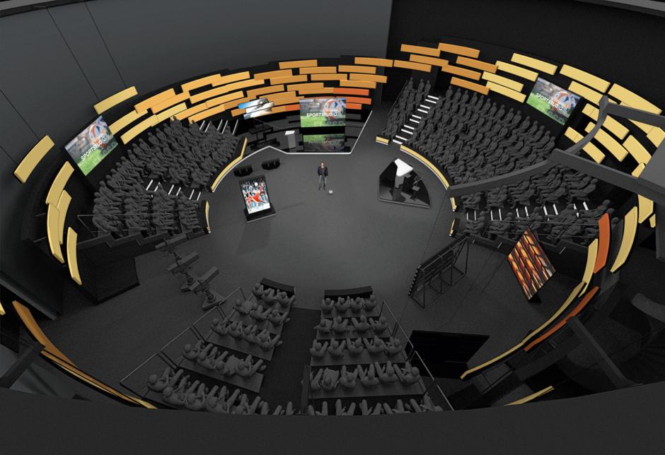 Atelier Markgraph gestaltet neues TV Set Design für ZDF-Sport