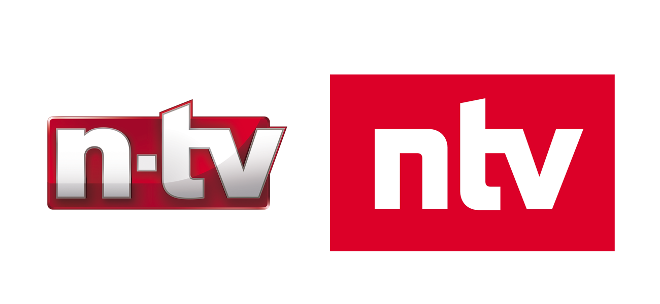 Logo Design ntv Corporate Identity