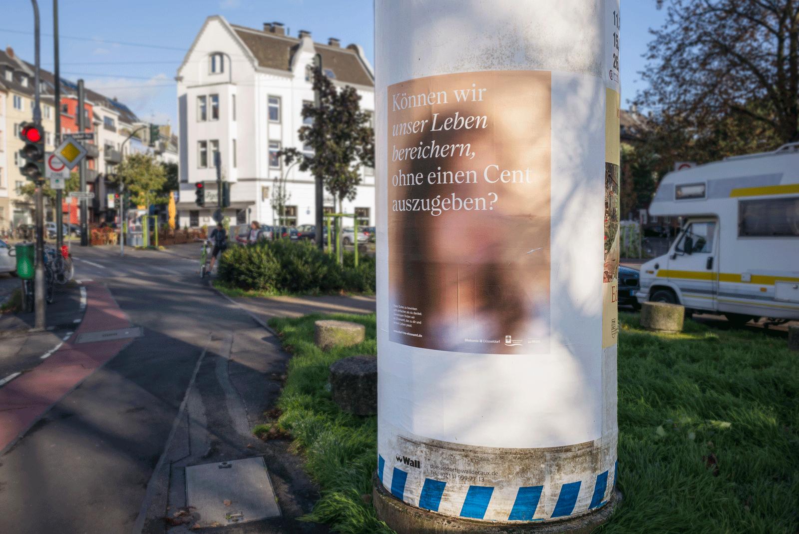 Kampagne, Plakate, Caritas