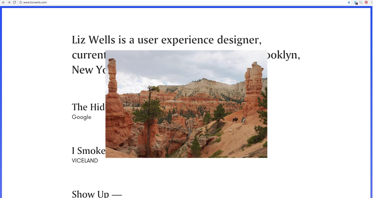 UX Designer Portfolio Websites