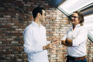 Kai Röffen und Amir Habil von der Customized Agency Bobby & Carl