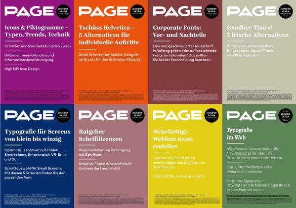 Typografie und Typedesign