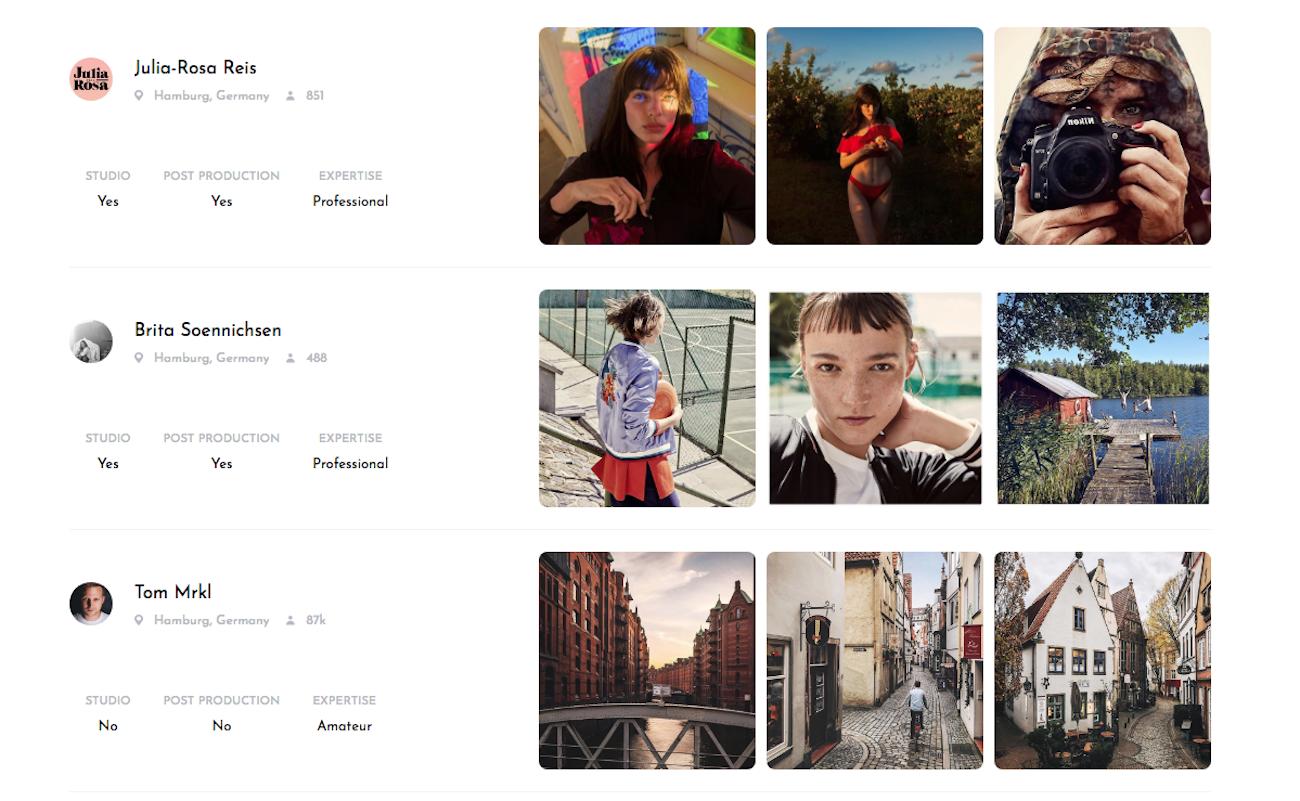 Mit CherryDeck Fotografen auf Instagram entdecken