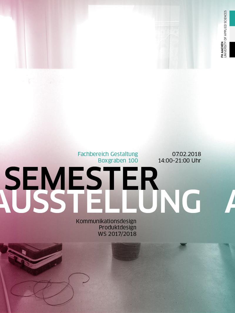 Werkschauen im februar 2018 page online for Produktdesign aachen