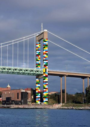 Lego Brücke Let's Color Gothenburg