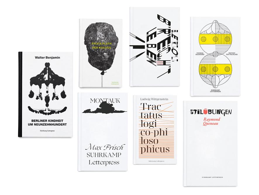 Suhrkamp Letterpress Edition Buchdruck Süpergrüp