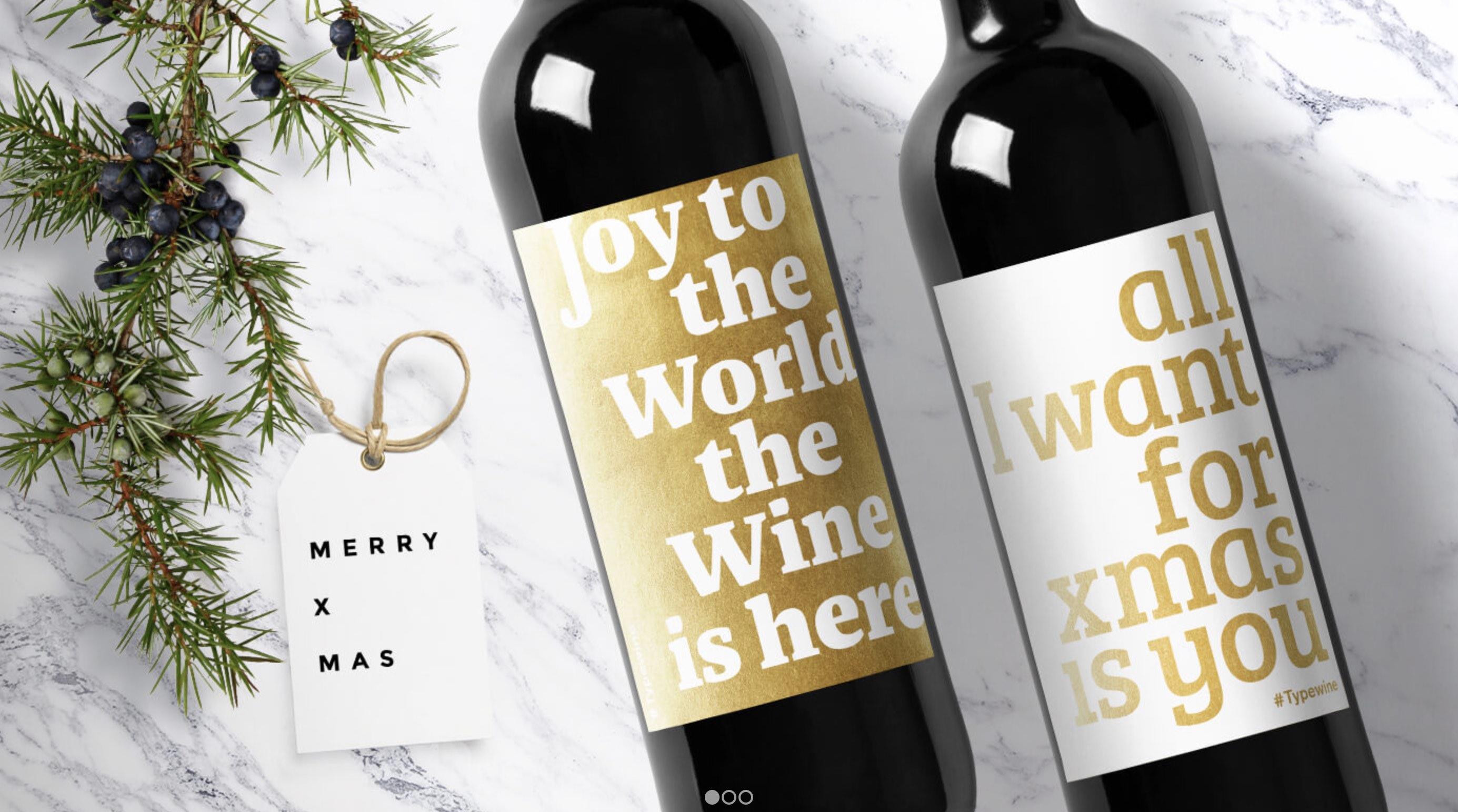 Typografisches Weihnachtsgeschenk | PAGE online
