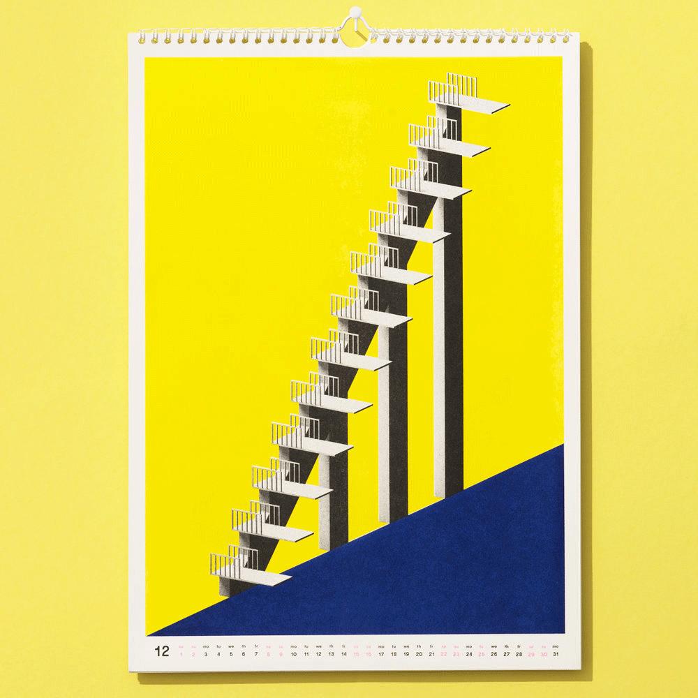 Design Wandkalender | Die Schonsten Design Kalender 2018 Page Online